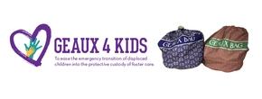 Geaux 4 Kids, Inc. Logo