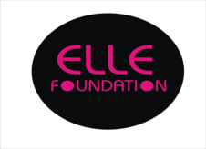 The elle foundation Logo