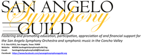 San Angelo Symphony Guild, LLC Logo