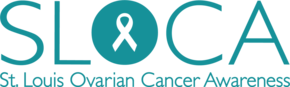St. Louis Ovarian Cancer Awareness Logo