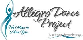 Allegro Dance Project Logo