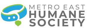 Metro East Humane Society Logo
