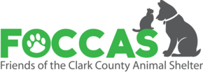 Friends of the Clark County Animal Shelter, Inc. Logo