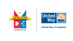 Downtown Lafayette // United Way  Logo