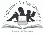 Fall River Valley Library, Inc. Logo