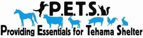 P.E.T.S. (Providing Essentials for Tehama Shelter) Logo