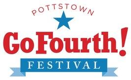 Pottstown GoFourth! Logo