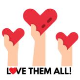 Love Them All! Logo