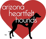 Arizona Greyhound & Animal Rescue Fund DBA Arizona Heartfelt Hounds Logo
