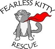 Fearless Kitty Rescue Logo