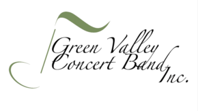 Green Valley Concert Band, Inc. Logo