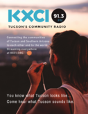 KXCI Community Radio Logo