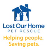 Lost Our Home Pet Rescue Logo