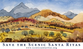 Save the Scenic Santa Ritas Logo