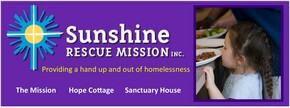 Sunshine Rescue Mission & Hope Cottage Logo