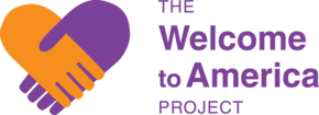 The Welcome to America Project Logo
