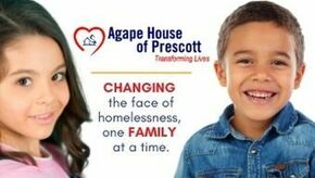 Agape House of Prescott Logo
