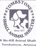 Tombstone Small Animal Shelter Logo