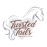 Twisted Tails; animal rescue & sanctuary Logo
