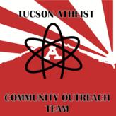 Tucson Atheist Community Outreach Team Logo