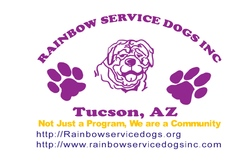 Rainbow Service Dogs Inc Logo