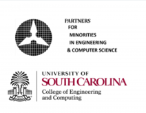 Partners for Minorities in Engineering and Computer Science Logo