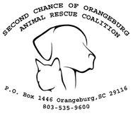 Second Chance of Orangeburg Animal Rescue Coalition Logo