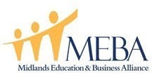 (MEBA) Midlands Education and Business Alliance Logo