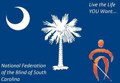 National Federation of the Blind of South Carolina Logo