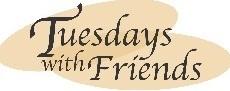 Tuesdays With Friends Senior Social Logo