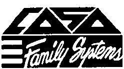 CASA Family Systems Logo