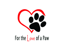 For the Love of a Paw Logo