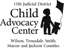 15th Judicial District Child Advocacy Center Logo