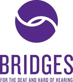 Bridges for the Deaf and Hard of Hearing Logo