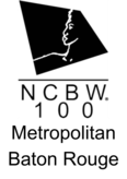 National Coalition of 100 Black Women, Inc- Metropolitan Baton Rouge Chapter Logo