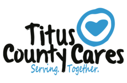Titus County Cares Logo