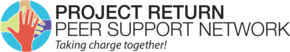 Project Return Peer Support Network Logo