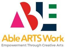 Able ARTS Work Logo