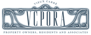 Vieux Carre Property Owners, Residents, and Associates Logo