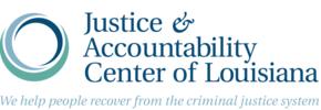 Justice & Accountability Center of Louisiana Logo