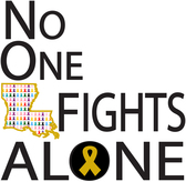No One Fights Alone Logo