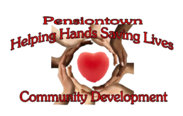 Pensiontown Helping Hands Saving Lives Logo