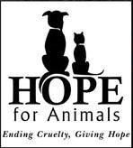 HOPE for Animals Logo