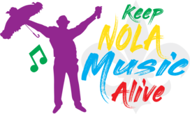 Keep New Orleans Music Alive Logo